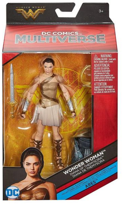 DC Multiverse Wonder Woman Movie Diana Of Thermyscira - Action Figure Warehouse Australia | Comic Collectables