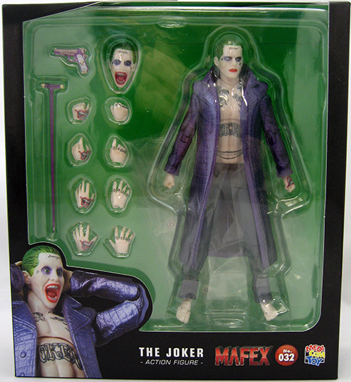 DC Mafex Suicide Squad Joker Action Figure #32 - Action Figure Warehouse Australia | Comic Collectables