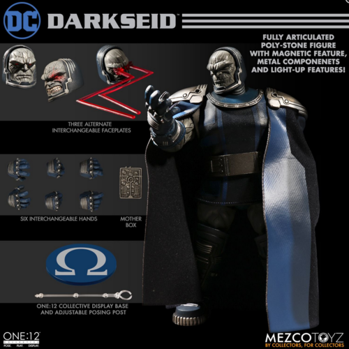 DC Mezco Darkseid One:12 Scale Action Figure Pre-Order - Action Figure Warehouse Australia | Comic Collectables