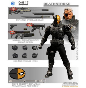 DC Mezco PX Previews Exclusive Deathstroke Stealth One:12 Scale Action Figure - Action Figure Warehouse Australia | Comic Collectables