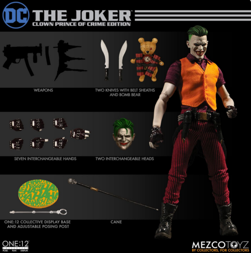 DC Mezco The Joker Clown Prince Of Crime One:12 Scale Action Figure Pre-Order - Action Figure Warehouse Australia | Comic Collectables