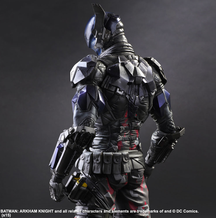 DC Square Enix Play Arts Kai Batman Arkham Knight The Arkham Knight Action Figure - Action Figure Warehouse Australia | Comic Collectables