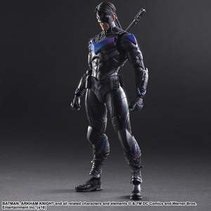 DC Square Enix Play Arts Kai Arkham Knight Nightwing Action Figure - Action Figure Warehouse Australia | Comic Collectables