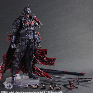 DC Square Enix Play Arts Kai Batman Timeless Bushido Action Figure - Action Figure Warehouse Australia | Comic Collectables