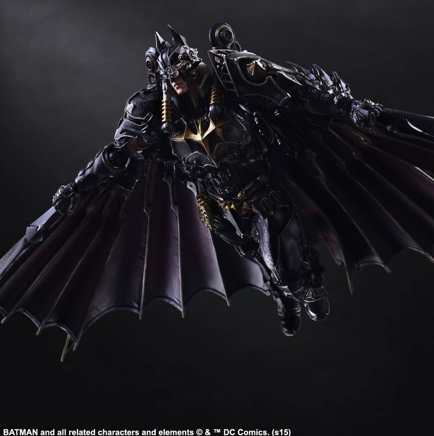 DC Square Enix Play Arts Kai Batman Timeless Steampunk Action Figure - Action Figure Warehouse Australia | Comic Collectables