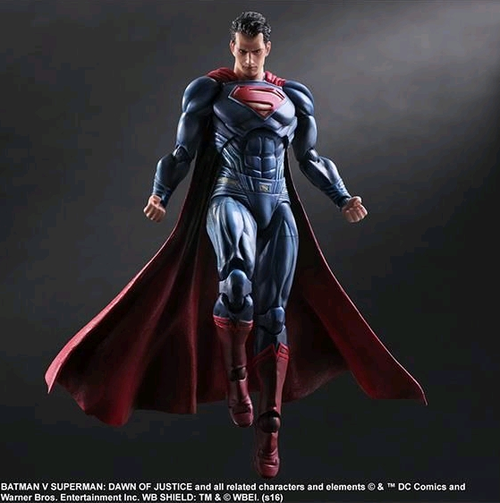 DC Square Enix Play Arts Kai Batman v Superman Superman Action Figure - Action Figure Warehouse Australia | Comic Collectables
