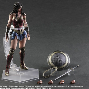 DC Square Enix Play Arts Kai Batman v Superman Wonder Woman Action Figure - Action Figure Warehouse Australia | Comic Collectables