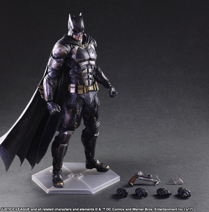 DC Square Enix Play Arts Kai Justice League Batman Tactical Suit Action Figure - Action Figure Warehouse Australia | Comic Collectables