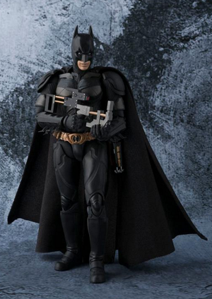 DC Bandai SH Figuarts Batman The Dark Knight Action Figure - Action Figure Warehouse Australia | Comic Collectables