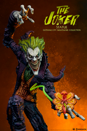 DC Sideshow Collectibles Batman The Joker Gotham City Nightmare Statue Pre-Order - Action Figure Warehouse Australia | Comic Collectables