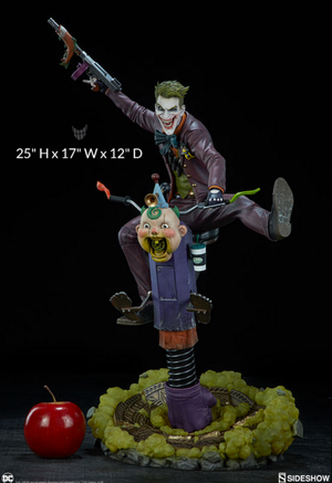 DC Sideshow Collectibles Batman The Joker Premium Format 1:4 ScaleStatue Pre-Order - Action Figure Warehouse Australia | Comic Collectables