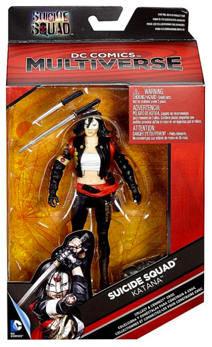 DC Multiverse Suicide Squad Katana Action Figure - Action Figure Warehouse Australia | Comic Collectables