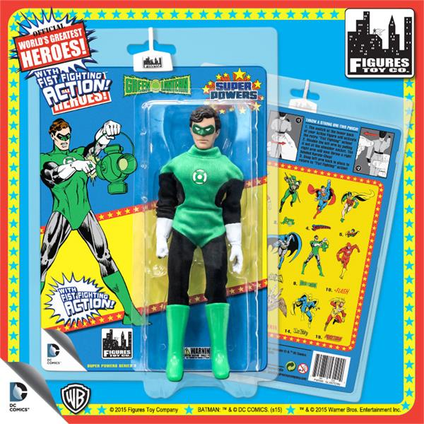DC Retro Mego Kresge Style Super Powers Green Lantern Action Figure - Action Figure Warehouse Australia | Comic Collectables