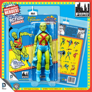 DC Retro Mego Kresge Style Super Powers Martian Manhunter Action Figure - Action Figure Warehouse Australia | Comic Collectables