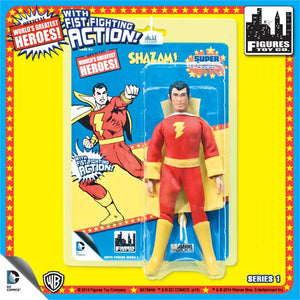 DC Retro Mego Kresge Style Super Powers Shazam Action Figure - Action Figure Warehouse Australia | Comic Collectables