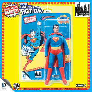 DC Retro Mego Kresge Style Super Powers Superman Action Figure - Action Figure Warehouse Australia | Comic Collectables