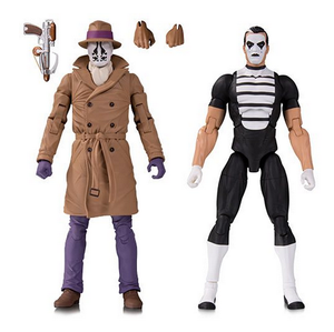 DC Watchmen Doomsday Clock - Rorschach & Mime 2-Pack Action Figure Pre-Order - Action Figure Warehouse Australia | Comic Collectables