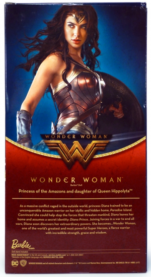 DC Barbie Wonder Woman Movie Black Label Doll - Action Figure Warehouse Australia | Comic Collectables