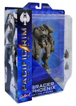 Pacific Rim Uprising Diamond Select Bracer Phoenix Action Figure