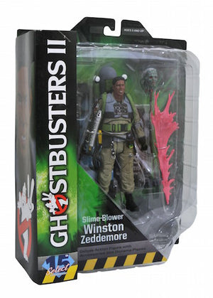 Ghostbusters 2 Diamond Select Winston Series 7 Action Figure