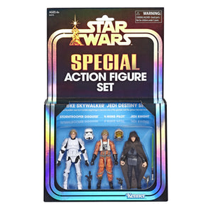 Star Wars The Vintage Collection SDCC 2019 Luke Skywalker 3 Pack 3.75 Inch