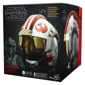 Star Wars Black Series Luke Skywalker X-Wing Electronic Helmet 1:1 Scale Prop Replica Pre-Order