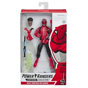 Power Rangers Lightning Collection Wave 2 Beast Morphers Red Ranger Action Figure