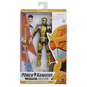 Power Rangers Lightning Collection Wave 2 Beast Morphers Gold Ranger Action Figure