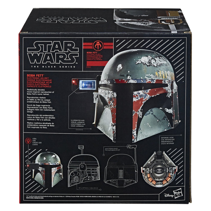 Star Wars Black Series Boba Fett Electronic Helmet 1:1 Scale Prop Replica Pre-Order
