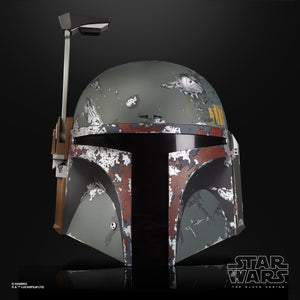 Star Wars Black Series Boba Fett Electronic Helmet 1:1 Scale Prop Replica
