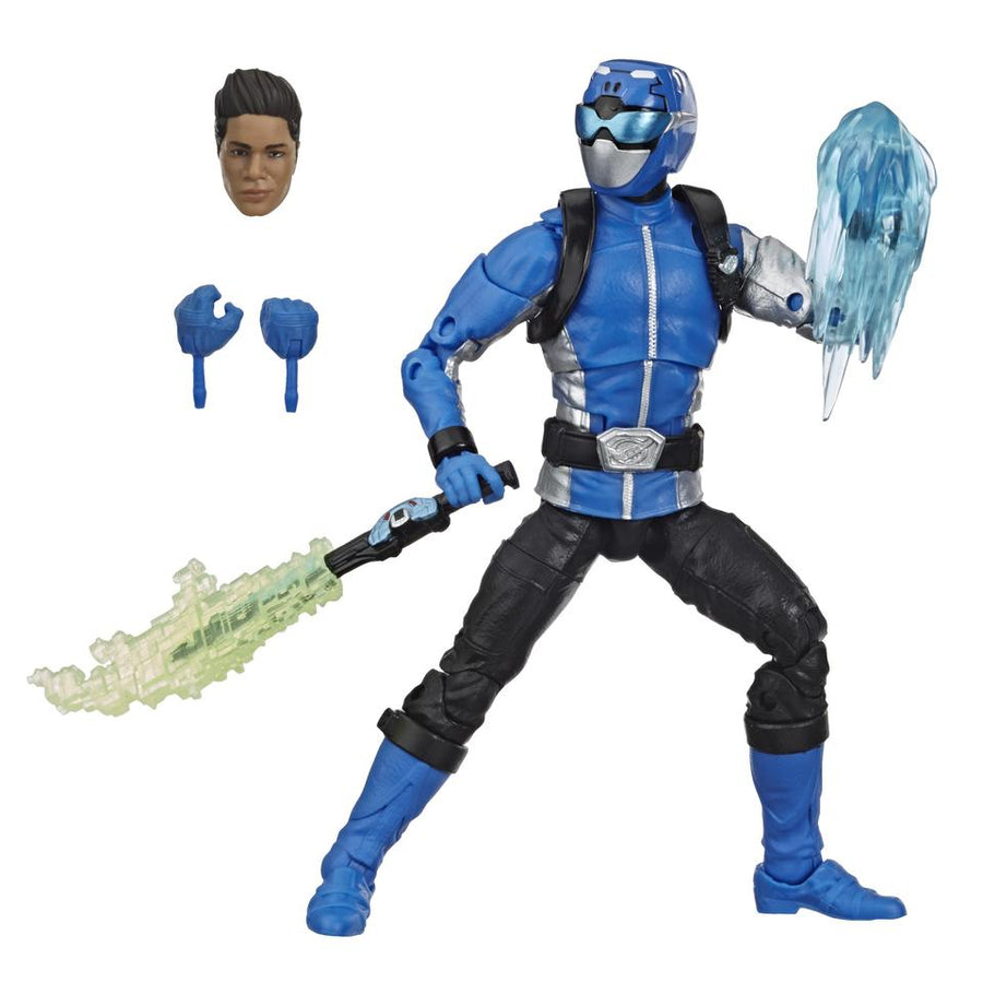 Power Rangers Lightning Collection Wave 3 Beast Morphers Blue Ranger Action Figure