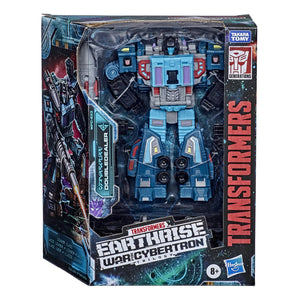Transformers Earthrise War For Cybertron Leader Doubledealer Action Figure