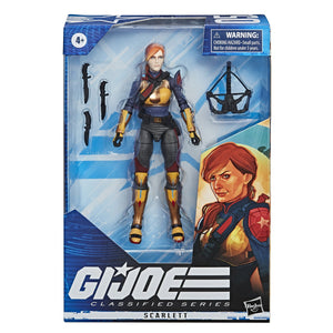 GI JOE Classified Series Scarlett Action Figure Pre-Order