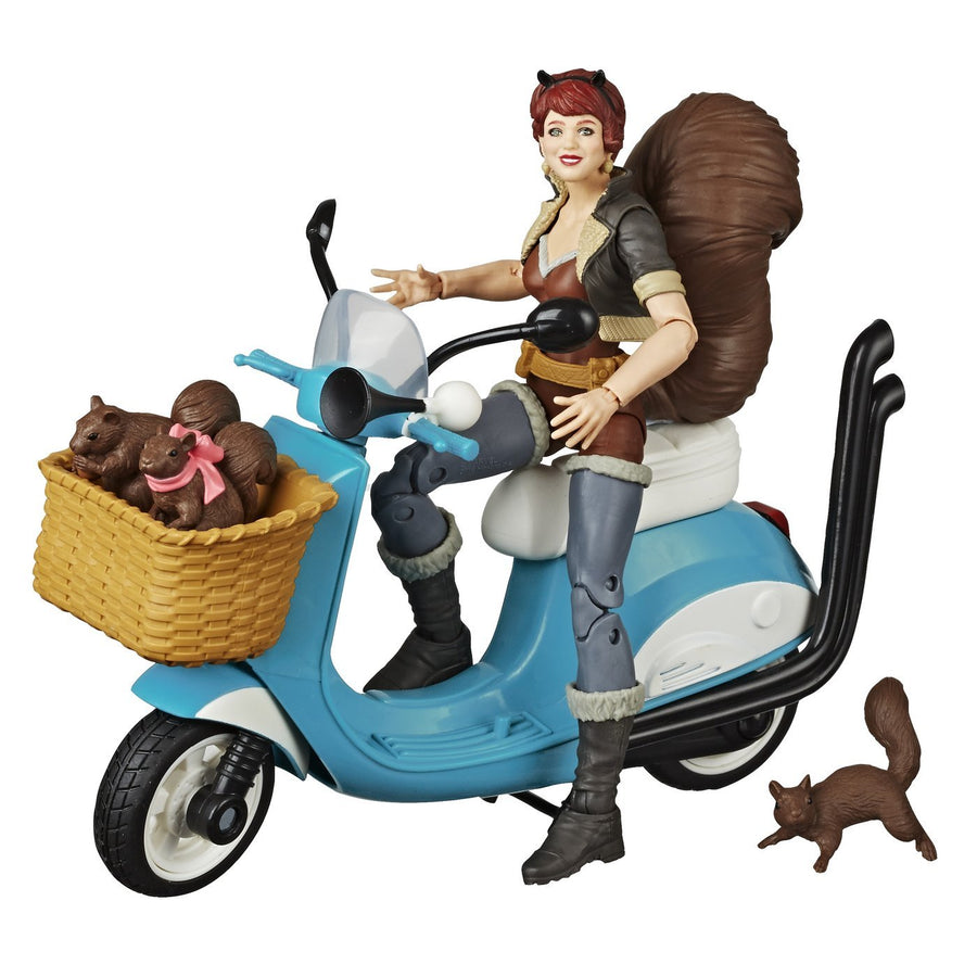 Marvel Legends Unbeatable Squirrel Girl w/ Motorcycle Action Figure