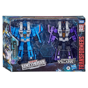 Transformers Earthrise War For Cybertron Exclusive Voyager Skywarp & Thundercracker Seeker 2-Pack Action Figure Pre-Order