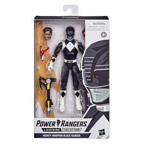 Power Rangers Lightning Collection Wave 6 Mighty Morphin Black Ranger Action Figure Pre-Order