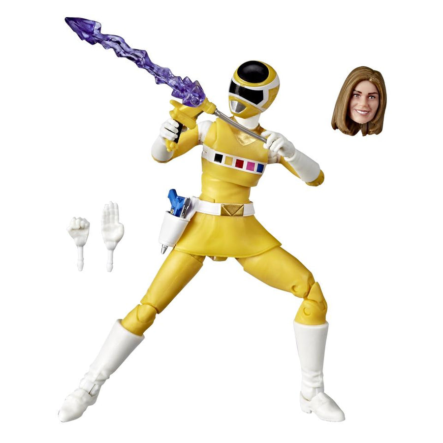 Power Rangers Lightning Collection Wave 6 In Space Yellow Ranger Action Figure Pre-Order