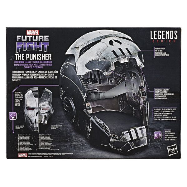 Marvel Legends Exclusive Punisher War Machine Helmet 1:1 Prop Replica