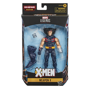 Marvel Legends X-men Age Of Apocalypse Series Weapon X Action Figure