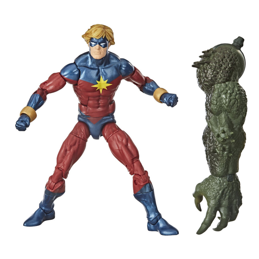 Marvel Legends Avengers Gameverse Series Mar-Vell Action Figure