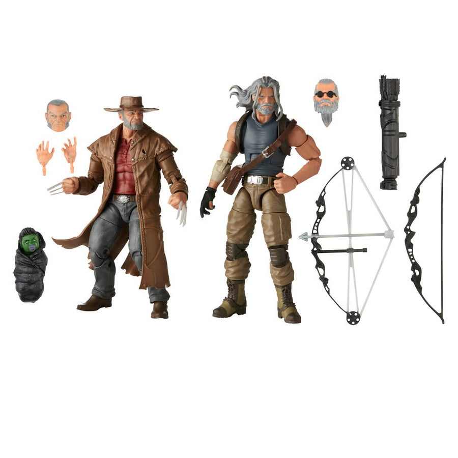 Marvel Legends X-Men Old Man Logan & Hawkeye Action Figure 2-Pack Pre-Order