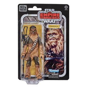 Star Wars Black Series 40th Anniversary Empire Strikes Back Chewbacca Action Figure Pre-Order