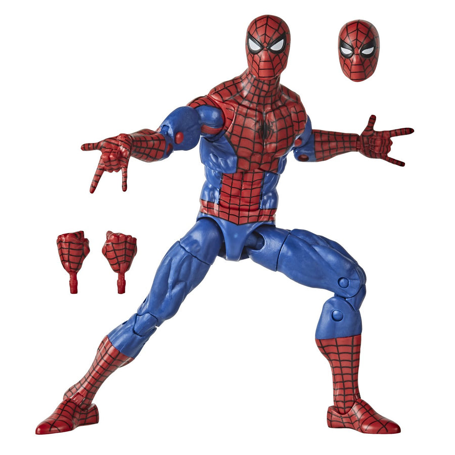 Marvel Legends Vintage Spider-Man Collection Spider-Man Action Figure