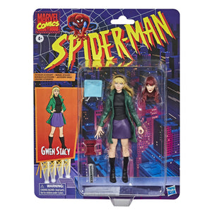 Marvel Legends Vintage Spider-Man Collection Gwen Stacey Action Figure