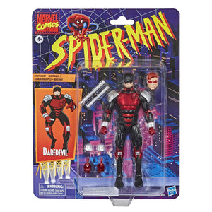 Marvel Legends Vintage Spider-Man Collection Daredevil Action Figure