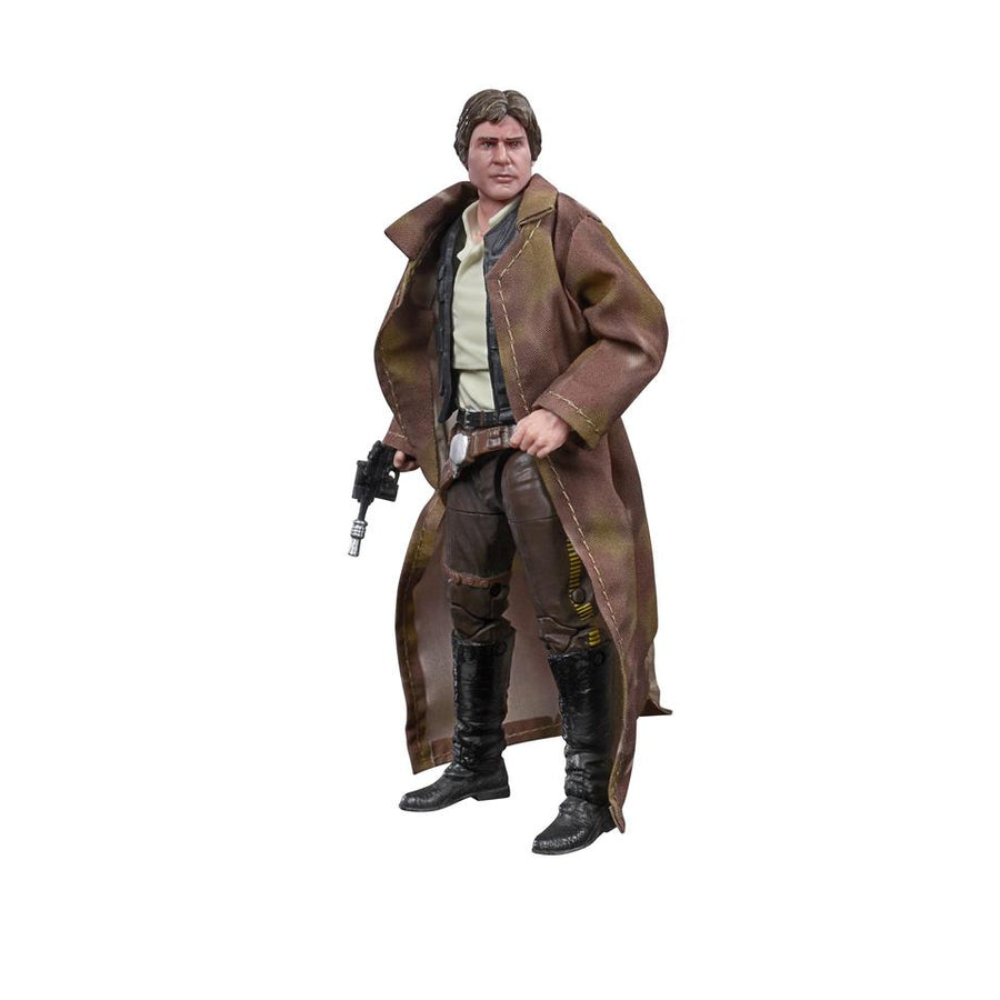Star Wars Black Series Han Solo Endor Gear Action Figure Pre-Order