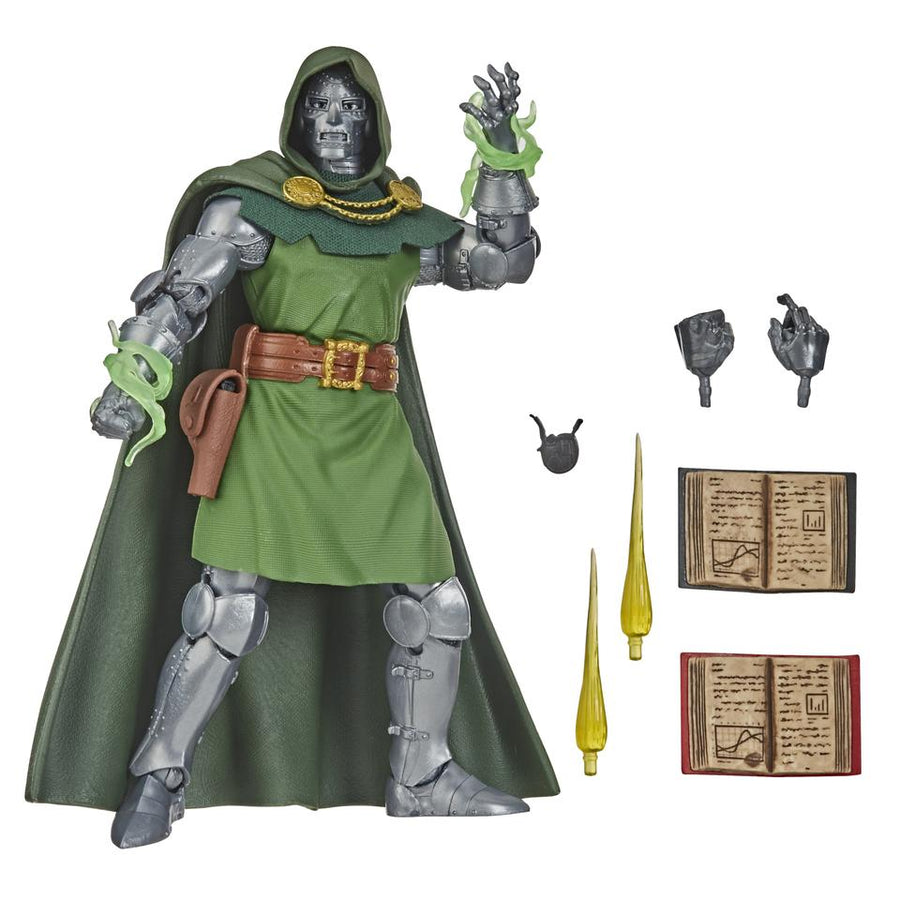 Marvel Legends Vintage Exclusive Fantastic Four Doctor Doom Action Figure Pre-Order