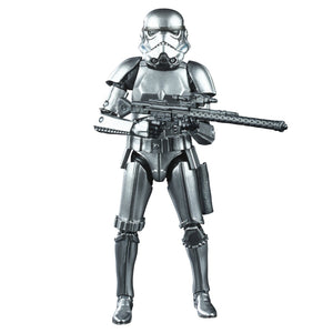 Star Wars Black Series 40th Anniversary Empire Strikes Back Exclusive Carbonized Stormtrooper Action Figure