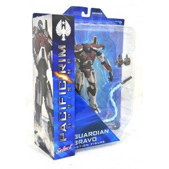 Pacific Rim Uprising Diamond Select Guardian Bravo Action Figure