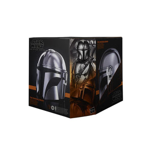 Star Wars Black Series The Mandalorian Premium Electronic Helmet 1:1 Scale Prop Replica Pre-Order